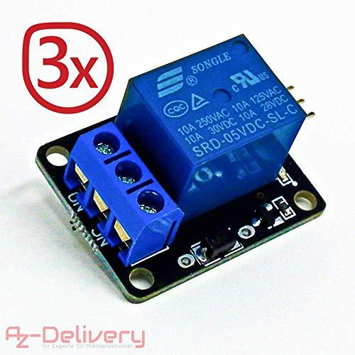 Demarkt 1 Relaismodul 5V Low-Trigger Relais-Erweiterungskarte Single
